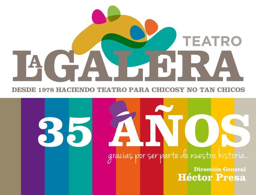 ¡La Galera Encantada cumple 35 años y sale a la calle para festejarlo!