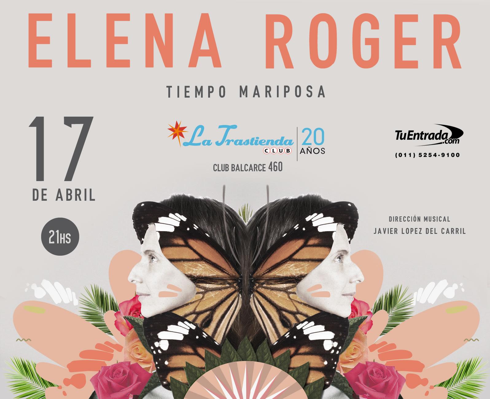 ELENA ROGER EN LA TRASTIENDA – 17 DE ABRIL