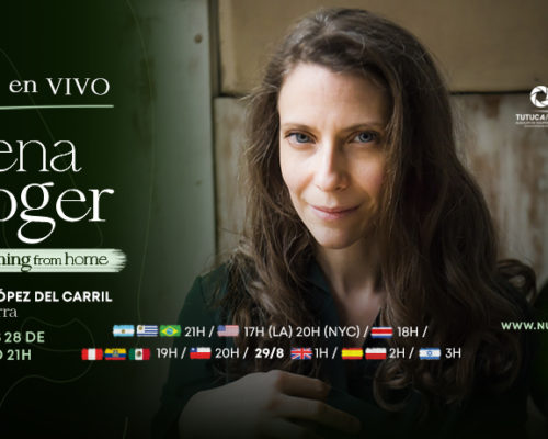 ELENA ROGER – STREAMING FROM HOME