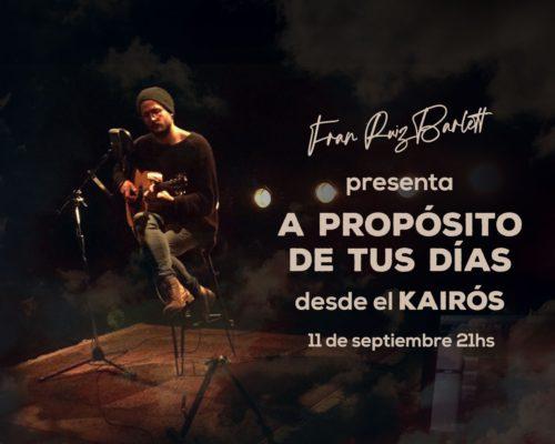 FRAN RUIZ BARLETT PRESENTA «A PROPÓSITO DE TUS DÍAS»
