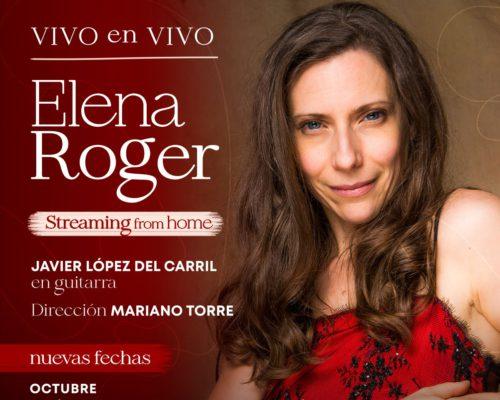 ELENA ROGER PRESENTA «VIVO EN VIVO»