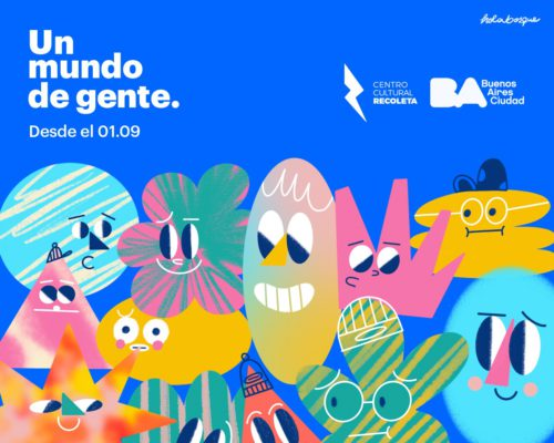 Programación Septiembre – Centro Cultural Recoleta: «UN MUNDO DE GENTE»