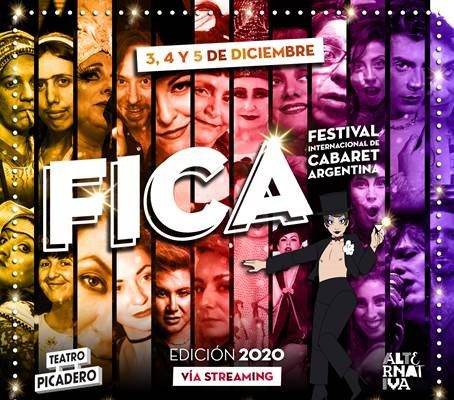 FESTIVAL INTERNACIONAL DE CABARET ARGENTINA 5° EDICIÓN – FICA 2020